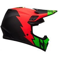 Bell MX-9 MIPS Strike Helmet (Red|Green|Black)