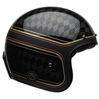 Bell Custom 500 Carbon RSD Checkmate Helmet (Black|Gold)