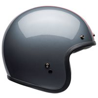 Bell Custom 500 DLX Rally Helmet (Grey|Red)
