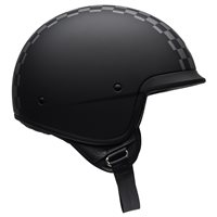 Bell Scout Air Check Open Face Helmet (Black|White)