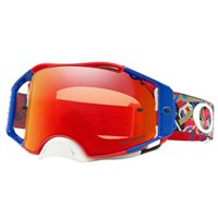 Oakley MX Goggles Airbrake Camo Vine Jungle RWB (Prizm Torch Iridium Lens)
