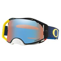 Oakley MX Goggles Airbrake Equalizer Blue Yellow (Prizm Sapphire Iridium Lens)