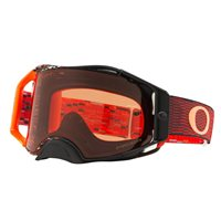 Oakley MX Goggles Airbrake Equalizer Red Orange (Prizm Bronze Lens)