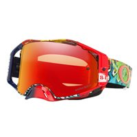 Oakley MX Goggles Airbrake Jeffery Herlings Signature Series Graffito RWB (Prizm Torch Iridium Lens)