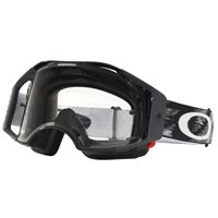 Oakley MX Goggles Airbrake Jet Black Speed (Clear Lens)