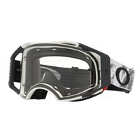 Oakley MX Goggles Airbrake Matte White Speed (Clear Lens)