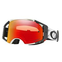 Oakley MX Goggles Airbrake Matte White Speed (Prizm Torch Iridium Lens)