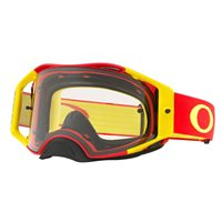 Oakley MX Goggles Airbrake Red Yellow (Clear Lens)