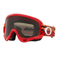 Oakley MX Goggles O Frame Braking Bumps Red/Orange (Dark Grey Lens)