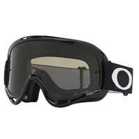 Oakley MX Goggles O Frame Jet Black (Dark Grey & Clear Lenses)
