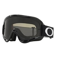 Oakley MX Goggles O Frame Jet Black (Dark Grey Lens)