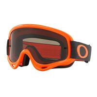 Oakley MX Goggles O Frame Orange Gunmetal (Dark Grey Lens)
