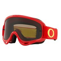 Oakley MX Goggles O Frame Red/Yellow (Dark Grey Lens)