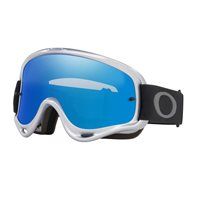 Oakley MX Goggles O Frame Silver/Chrome (Dark Grey & Clear Lenses)