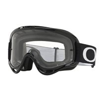 Oakley MX Kids Goggles XS O Frame Jet Black (Clear Lens)