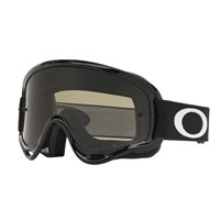 Oakley MX Kids Goggles XS O Frame Jet Black (Dark Grey & Clear Lenses)