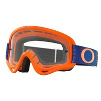 Oakley MX Kids Goggles XS O Frame Shockwave Orange/Blue