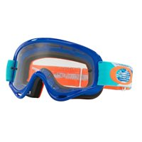 Oakley MX Kids Goggles XS O Frame Threadburn Orange/Blue