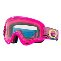 Oakley MX Kids Goggles XS O Frame Wind Tunnel Pink