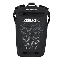 Oxford Aqua V 12 Backpack (Black)