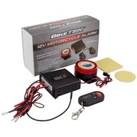 BikeTek 12V Remote Motorcycle Alarm - Basic Model