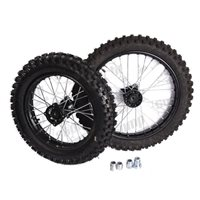 Stomp Pitbikes Standard Size Wheel Kit 12/14 for Stomps (includes tyres/tubes)