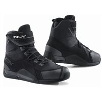 TCX District Waterproof Motorcycle Boots (Black)