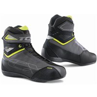 TCX Rush 2 Waterproof Motorcycle Boots (Grey/Yellow Fluo)
