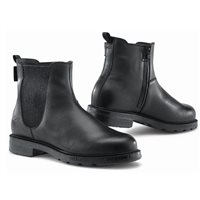 TCX Staten Waterproof Motorcycle Boots (Black/Grey)
