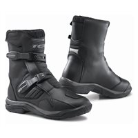 TCX Baja Waterproof Motorcycle Boots (Black)