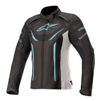 Alpinestars Stella T-Jaws V3 WP Ladies Jacket (Black/Teal)