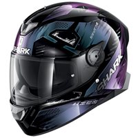 Shark Skwal 2 Venger (White LED) Helmet (Black/Pearl/Black)