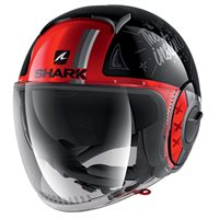 Shark Nano Tribute RM Helmet (Black/Red) - Special Order
