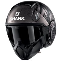 Shark Street Drak Crower Helmet (Matte Black/Anthracite)