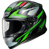 Shoei NXR Stable TC4 Helmet (Green|Black)