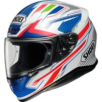 Shoei NXR Stable TC2 Helmet (Blue|White)