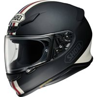 Shoei NXR Equate TC10 Helmet (Matt Black|White)