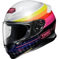 Shoei NXR Zork TC7 Helmet (White|Pink|Blue)