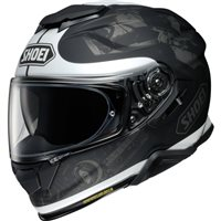 Shoei GT Air 2 Reminisce TC5 Motorcycle Helmet (Matt Black|White)