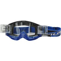 Wulfsport Shade Roll-off Racer Pack Motocross Goggles (Blue)