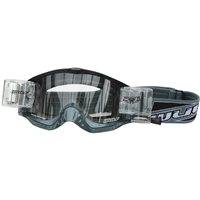 Wulfsport Shade Roll-off Racer Pack Motocross Goggles (Grey)
