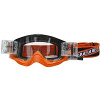 Wulfsport Shade Roll-off Racer Pack Motocross Goggles (Orange)