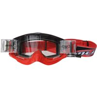 Wulfsport Shade Roll-off Racer Pack Motocross Goggles (Red)