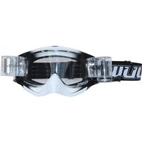 Wulfsport Shade Roll-off Racer Pack Motocross Goggles (White)
