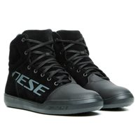 Dainese York D-WP Shoes (Black/Anthracite)