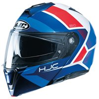 HJC I90 Hollen Flip Front Helmet (Red/White/Blue)