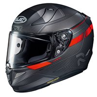 HJC RPHA 11 Nakri Carbon Motorcycle Helmet (Red)