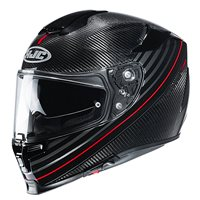 HJC RPHA 70 Artan Carbon Motorcycle Helmet (Red)