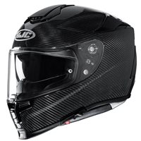 HJC RPHA 70 Carbon Motorcycle Helmet (Black)