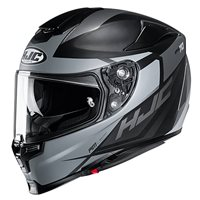 HJC RPHA 70 Sampra Motorcycle Helmet (Black|Grey)